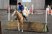 Hurworth Hunt Arena Show Cross 017