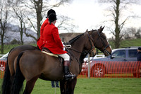 Hunt Staff, Horse Catchers & Parading Hounds